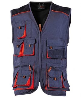 Работен елек EMERTON с мултифункционални джобове