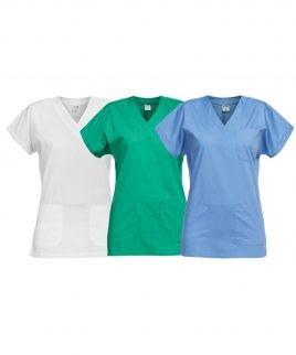 Медицинска туника в три цвята