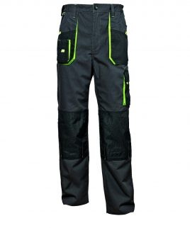 Работен панталон с подсилени колене и джобове