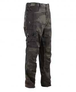 Камофлажен панталон с обемни джобове