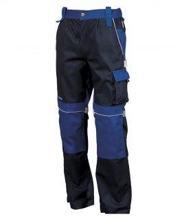 Висок клас работен панталон син цвят