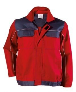 Червено работно яке
