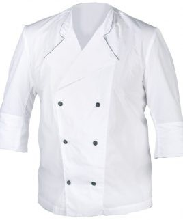 готварска туника в бяло