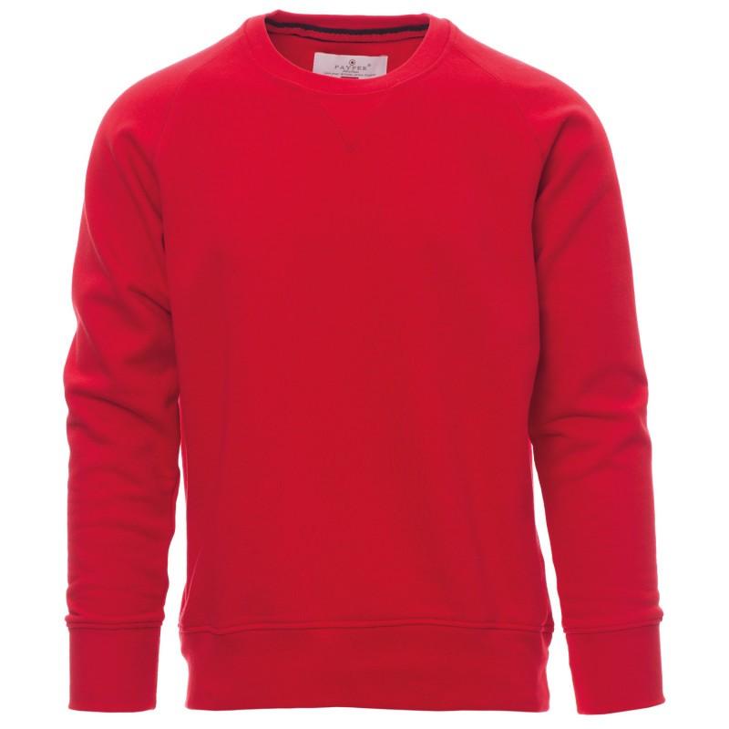 Червена ватирана блуза
