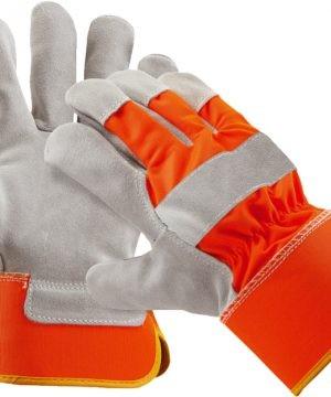 Кожени сигнални ръкавици