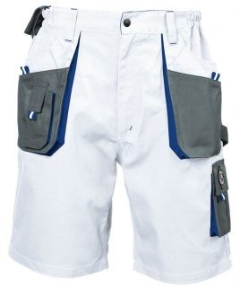 Къси бели работни панталони подходящи за бояджии