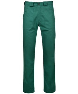 Работен панталон ARES GREEN с гарнитура.