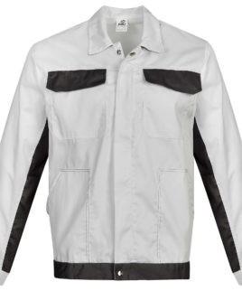 Работно яке в бяло и сиво
