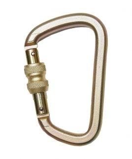 Овална карабина с винтово заключващ се пръстен