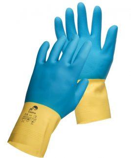 Работни ръкавици от естествен латекс