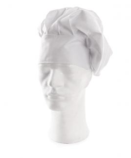 Бяла шапка за готвачи.