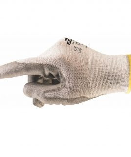 ESD 48-140 ръкавици, направени от полиестерно трико