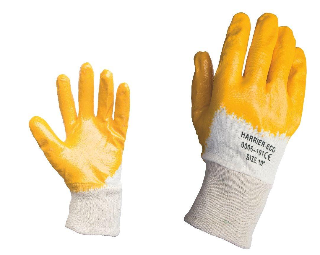 Работни ръкавици топени в нитрил