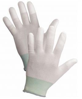 Ръкавици LARKI от ластично трико, пръсти, потопени в полиуретан