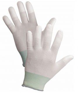 Ръкавици LARKI ECO от ластично трико, пръсти, потопени в полиуретан
