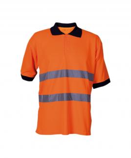 Сигнална тениска в оранжево.