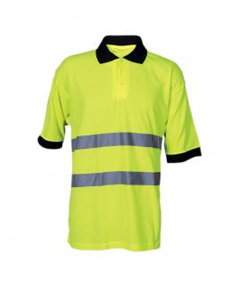 Сигнална тениска в жълто.