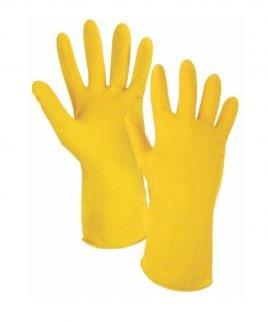 Домакински ръкавици.