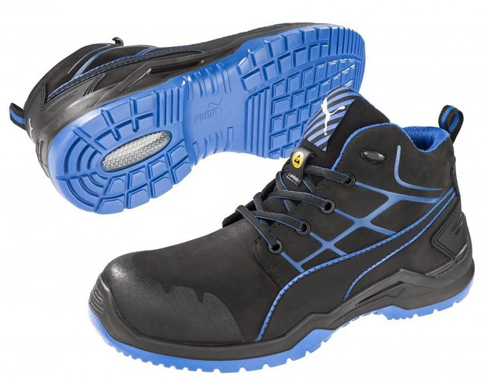 Високи работни обувки Пума с бомбе
