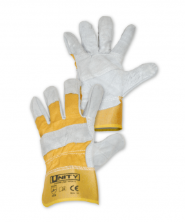 Ръкавици от цепена телешка кожа.