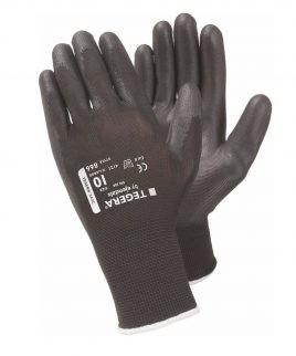 Ръкавици TEGERA 866 от ластично трико, потопени в PU.