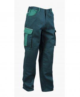 Зелен Работен панталон