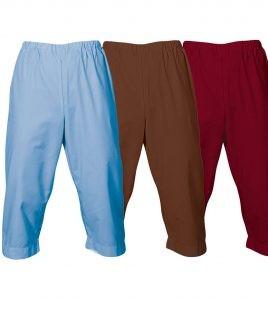 Медицински панталон 3/4 различни цветове