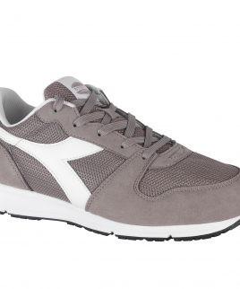Спортни работни обувки Diadora без бомбе в сив цвят