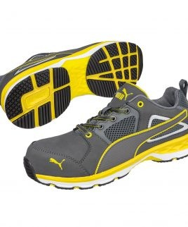 Работни обувки PUMA в жълто и сиво