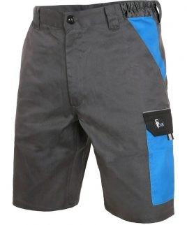 Къс работен панталон със странични джобове