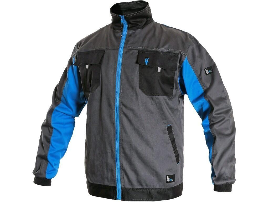 Работно яке, куртка в сиво и арктическо синьо