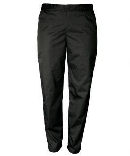 Панталон за готвачи в черно