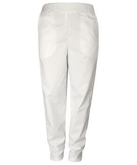 Панталон за готвачи в бял цвят
